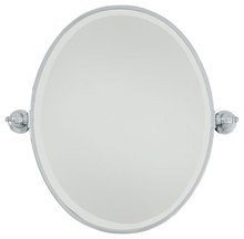 Minka-Lavery 1431-77 - Oval Mirror - Beveled