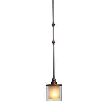 Artcraft AC1241 - Sierra Oil Rubbed Bronze Single Pendant