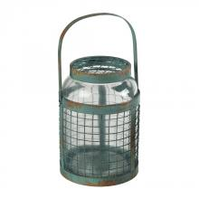 Sterling Industries 129-1041 - Glass & Metal Mesh Hurricane