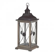 Sterling Industries 137-003 - Edlington-Large Wooden Lantern