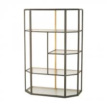 Sterling Industries 351-10170 - Industrial Era Shelving Unit