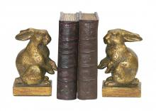 Sterling Industries 4-83037 - Pair Of Baby Rabbit Bookends