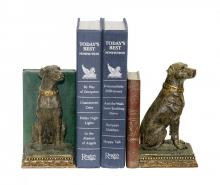 Sterling Industries 91-2629 - Pair of Chocolate Lab Bookends