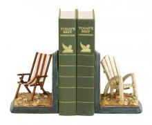 Sterling Industries 91-4206 - Pair Of Beach Chair Bookends