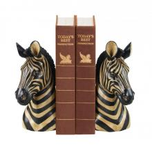 Sterling Industries 93-1220 - Pair Of Zebra Bookends