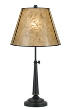 "CAL Lighting BO-2472TB - 27"" Height Iron Desk Lamp In Oil Rubbed Bronze"
