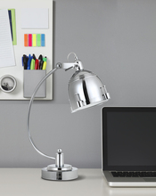 "CAL Lighting BO-2688DK - 21.5"" Height Metal Desk Lamp In Chrome"