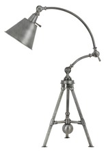 "CAL Lighting BO-2713DK - 29"" Height Metal Desk Lamp In Antique Pewter"