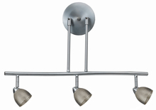 "CAL Lighting SL-954-3-BS/MBS - 7.25-19.25"" Inch Adjustable Metal Serpentine Three Light Ceiling Fixture"