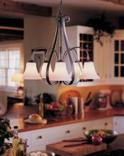 Hubbardton Forge 101445-SKT-03-HH0001 - Sweeping Taper 5 Arm Chandelier