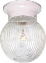 "Nuvo SF76/257 - 1 Light 6"" Ball Fixture"