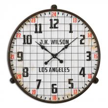 Uttermost 06424 - Uttermost Max Aged Wall Clock