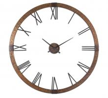 "Uttermost 06655 - Uttermost Amarion 60"" Copper Wall Clock"