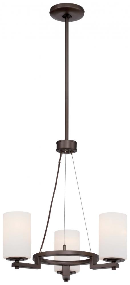 Inland Lighting in Yakima, Washington, United States, Minka-Lavery VZL3, 3 Light Mini Chandelier, Morlaix