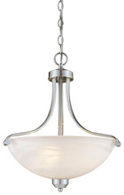 Minka-Lavery 1426-84 - 3 Light Pendant