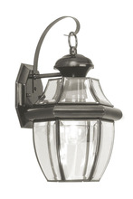 Livex Lighting 2151-04 - 1 Light Black Outdoor Wall Lantern