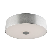 Artcraft AC7242BA - Fantasia 1 Light  Brushed Aluminum  Flush Mount