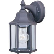 Maxim 1026BK - Builder Cast 1-Light Outdoor Wall Lantern