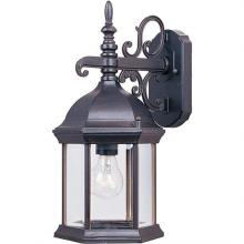 Maxim 1071CLEB - Builder Cast 1-Light Outdoor Wall Mount