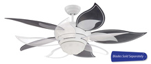 "Craftmade BL52W - Bloom 52"" Ceiling Fan in White (Blades Sold Separately)"