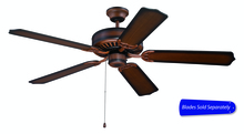 "Craftmade C52BCW - Pro Builder 52"" Ceiling Fan in Biscay Walnut (Blades Sold Separately)"