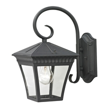 Thomas 8401EW/65 - Ridgewood 1 Light Outdoor Wall Sconce In Matte T