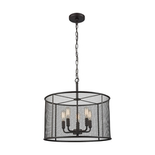 Thomas CN250541 - Williamsport 5 Light Chandelier In Oil Rubbed Br