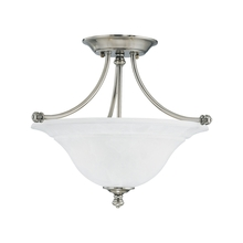 Thomas SL866241 - HARMONY ceiling lamp Satin Pewter 2x100