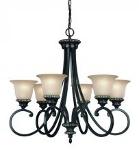 Dolan Designs 1750-148 - 6Lt Chandelier
