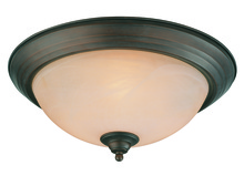 Jeremiah 20015-OB - 3 Light Flushmount in Oiled Bronze