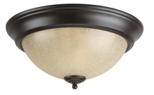 Jeremiah X711-OB - 2 Light Flushmount in Oiled Bronze