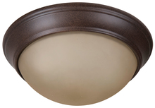 "Jeremiah XPP11AG-2A - Pro Builder Premium 2 Light 11"" Flushmount in Aged Bronze Textured"