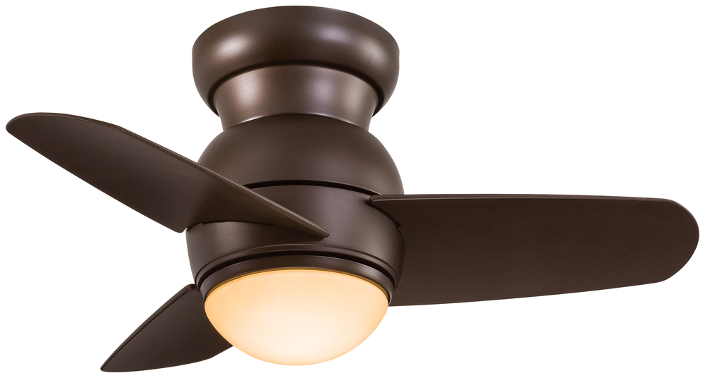 "Inland Lighting in Yakima, Washington, United States, Minka-Aire A74K, Spacesaver - Flush Mount 26"" - Oil Rubbed Bronze, Spacesaver"