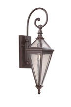 Troy BCD8991OR - One Light Old Rust Wall Lantern