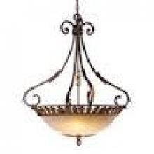 Minka Metropolitan N6242-355 - Golden Bronze Salon Scavo Glass Up Pendant