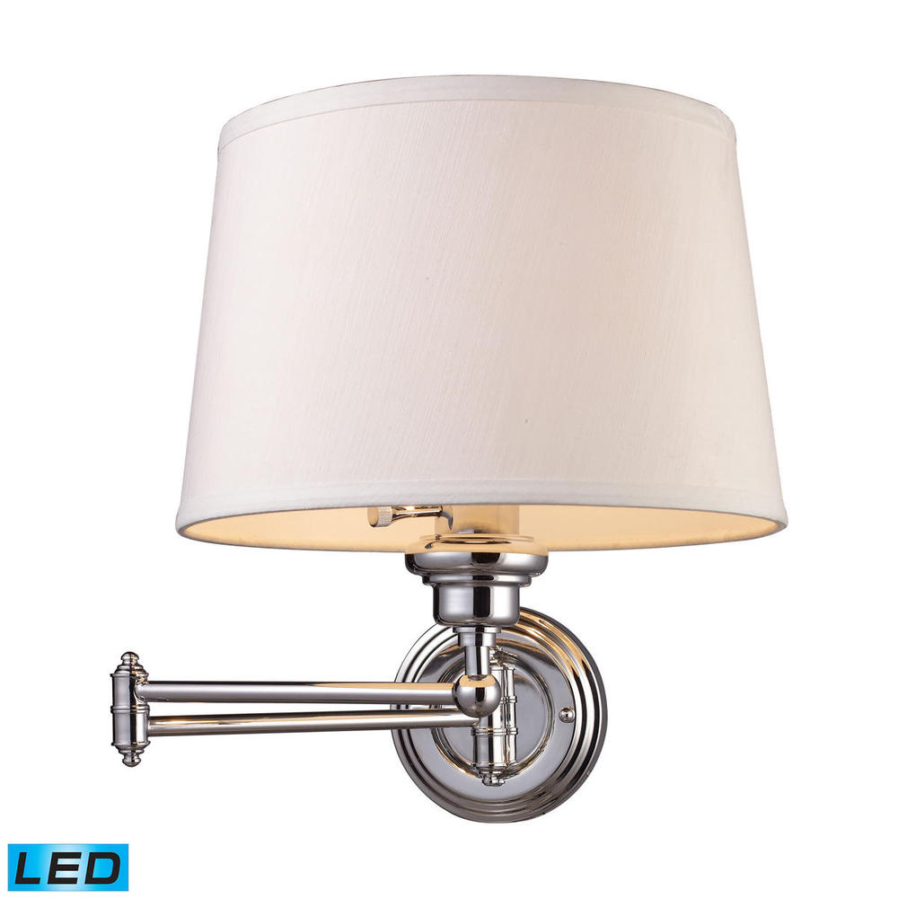 Inland Lighting in Yakima, Washington, United States, ELK Lighting K57W, Westbrook 1 Light LED Swingarm Sconce In Polishe, Westbrook