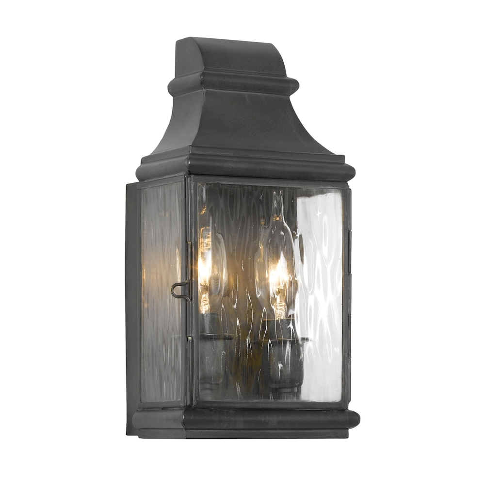 Jefferson Outdoor Wall Sconce In Charcoal And Wa R8HW Inland Lighting