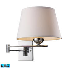 ELK Lighting 10106/1-LED - Lanza 1 Light LED Swing Arm Sconce In Polished C