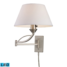 ELK Lighting 17016/1-LED - Elysburg 1 Light LED Swingarm Sconce In Satin Ni