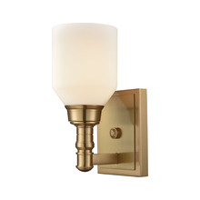ELK Lighting 32260/1 - Baxter 1 Light Vanity In Satin Brass With Opal W