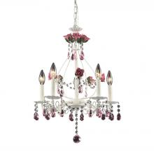 ELK Lighting 4054/5 - Rosavita 5 Light Chandelier In Antique White And
