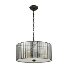 ELK Lighting 72146/3 - Anders 3 Light Chandelier In Oil Rubbed Bronze